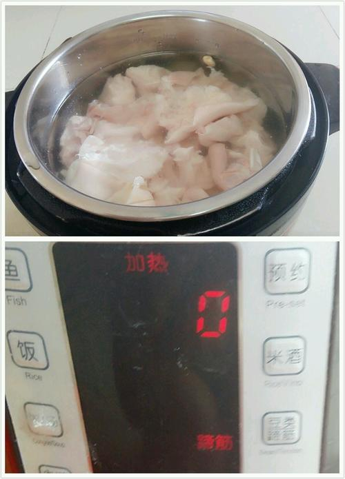花生莲藕猪蹄汤