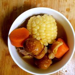 板栗玉米胡萝卜骨头汤