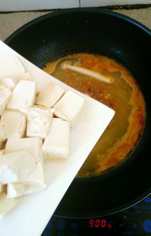蟹粉豆腐羹