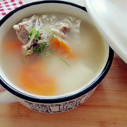 淮山葛根猪扇骨汤