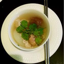 海底椰响螺瘦肉汤