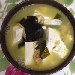 海带豆腐汤(懒人减肥素版高汤)