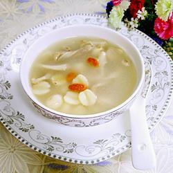 肚片莲子汤