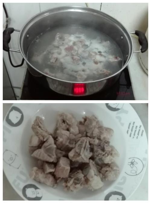 木瓜红枣排骨汤