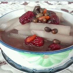 红枣白萝卜黑豆汤