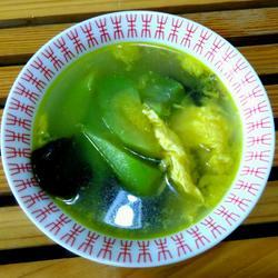丝瓜木耳蛋花汤