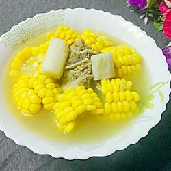 山药玉米板骨汤