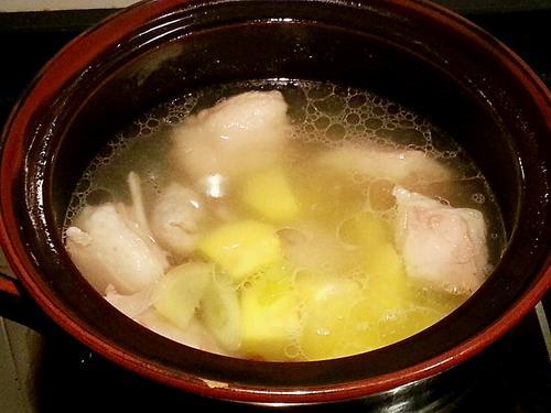 胡萝卜羊排汤