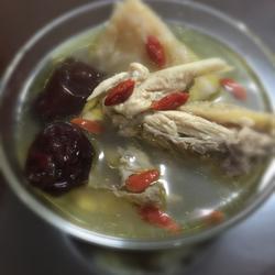榴莲壳煲鸡汤
