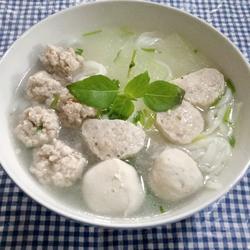 冬瓜丸子汤粉
