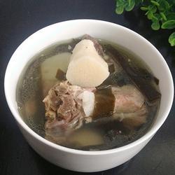 山药海带排骨汤