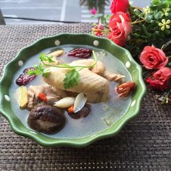 清炖蘑菇土鸡