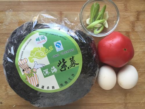 紫菜西红柿蛋花汤