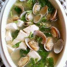 蛤蜊海鲜汤
