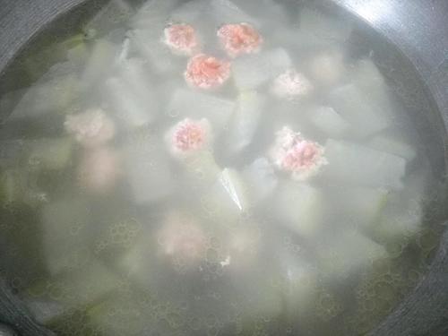 冬瓜肉圆汤