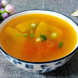 南瓜番茄汤
