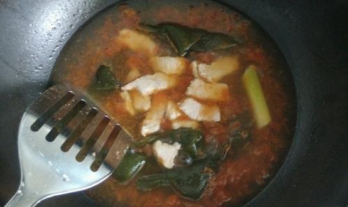 番茄肉片汤