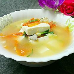 白豆腐番茄汤
