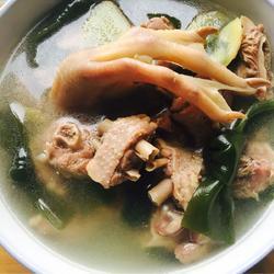 老鸭海带汤