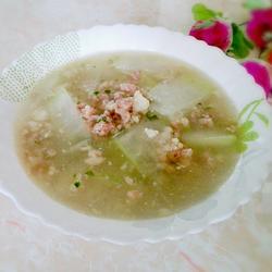冬瓜肉末汤