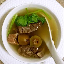 橄榄猪肺汤