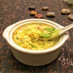 蚕豆鸡蛋汤