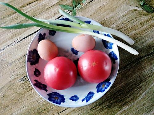 蕃茄鸡蛋汤