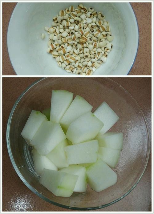 排骨薏米冬瓜汤