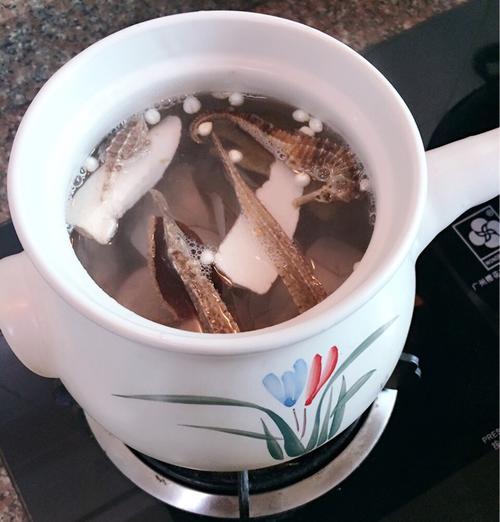 海龙海马海雀汤