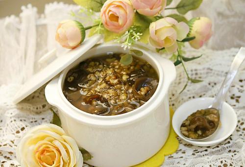 木耳绿豆汤