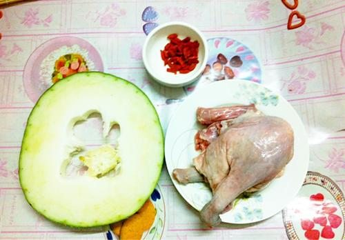 鹅肉冬瓜汤
