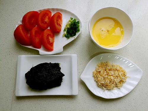 紫菜虾皮蛋花汤