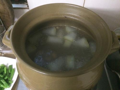 龙骨冬瓜汤
