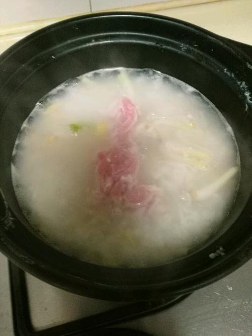 瑶柱瘦肉粥