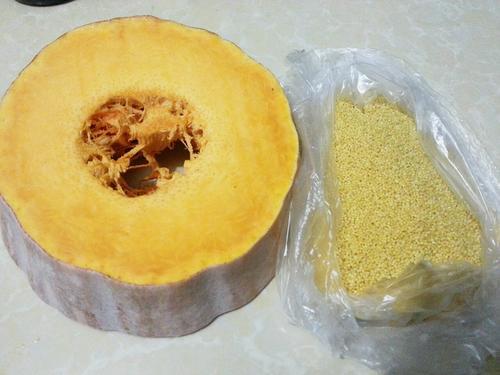 南瓜小米粥(电饭锅)