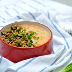 肉末胡萝卜粥