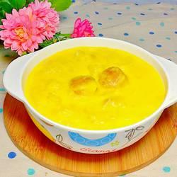 瑤柱魚肚雞湯粟米羹