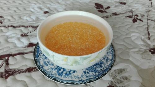 红枣玉米粥