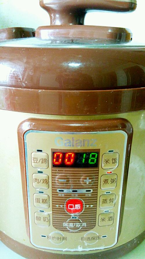 绿豆糯米粥