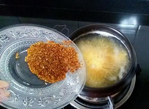 苦荞小米营养保健粥