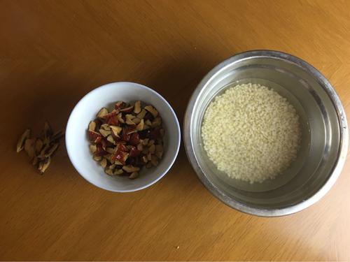 糙米红枣米糊