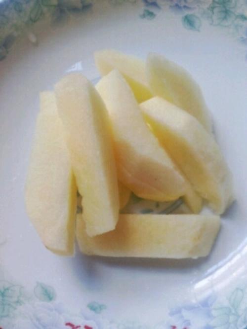 止泻-苹果山药粥