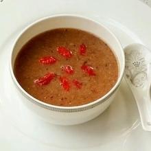 红豆薏米红枣糊
