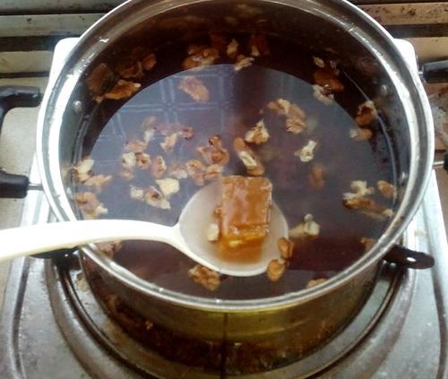 紫薯核桃粥