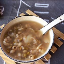 薏米百合绿豆粥