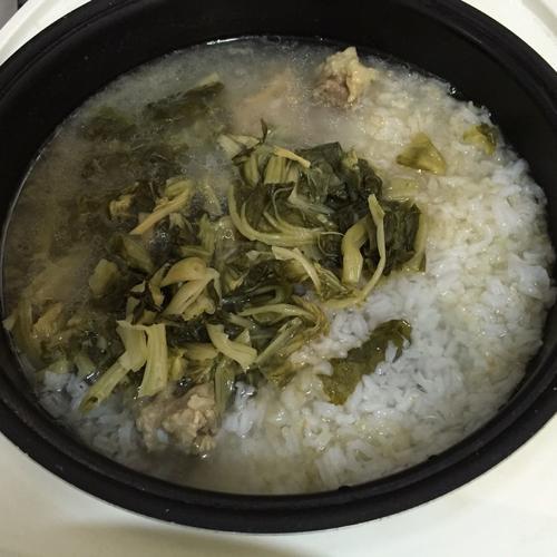 梅菜排骨粥