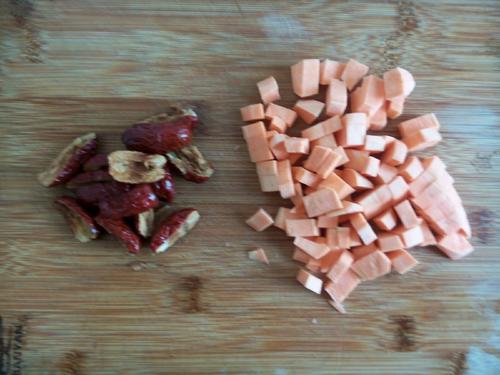 地瓜红枣粥