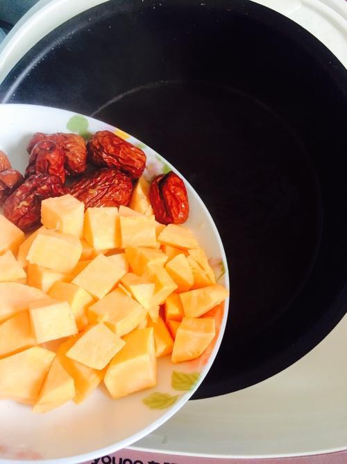 杂粮红薯粥