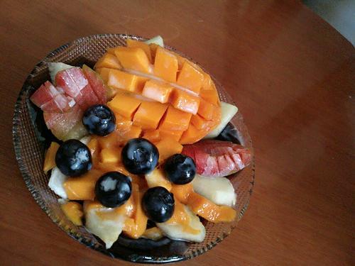 水果烧仙草