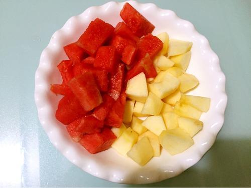 西瓜苹果汁